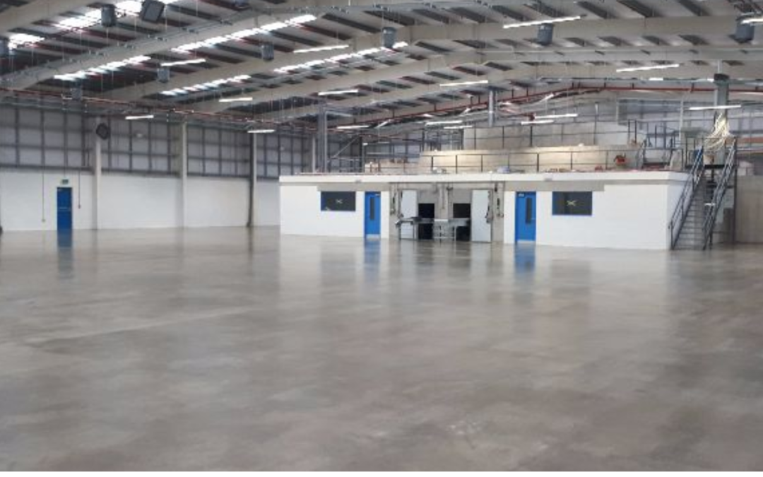 Steris – E Beam 2 Project, Sragh Industrial Estate, Tullamore