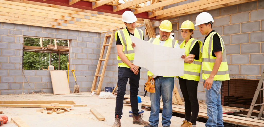 Managing subcontractors on a construction project